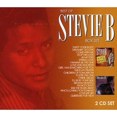 Stevie B. MEGA DANCE CLASSIC & LOVE SONGS 2 PACK CD