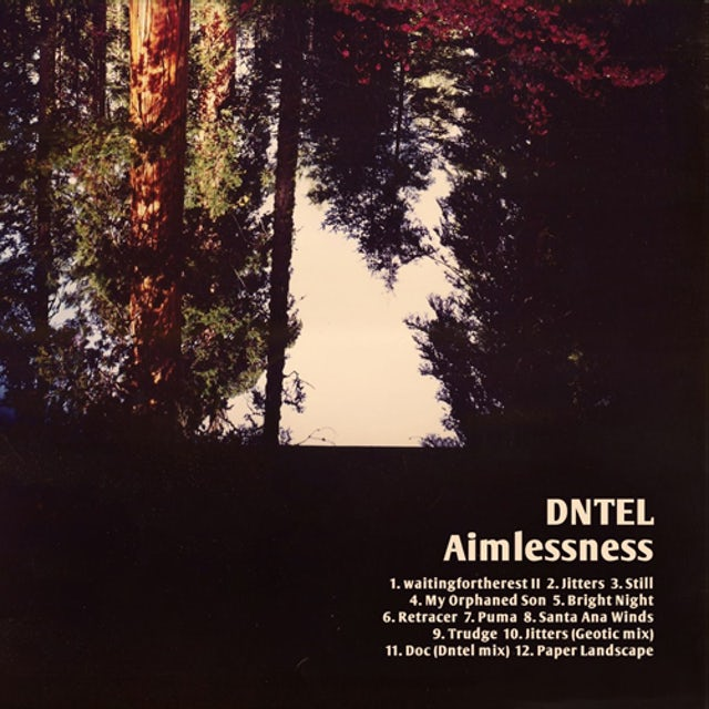 Dntel AIMLESSNESS Vinyl Record - w/CD