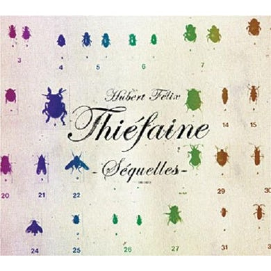 Hubert-Felix Thiefaine SEQUELLES CD