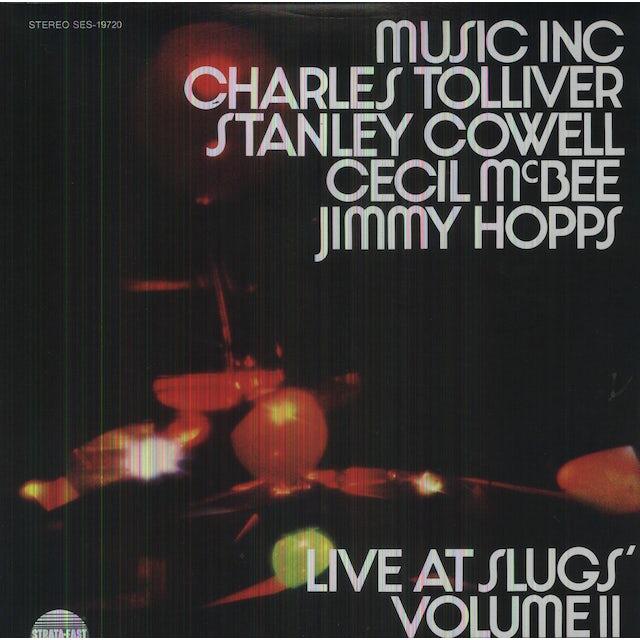 Music Inc: Charles Tolliver LIVE AT SLUGS Vinyl Record