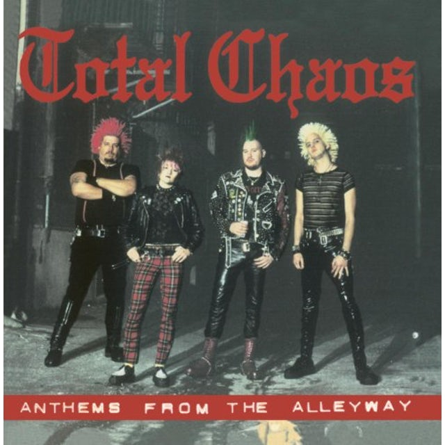 Total Chaos ANTHEMS FROM THE ALLEYWAY (MOD) CD