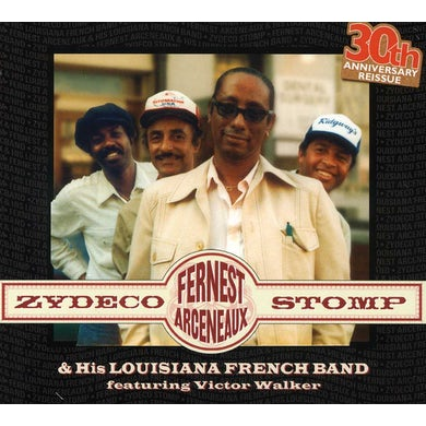 Fernest Arceneaux ZYDECO STOMP CD