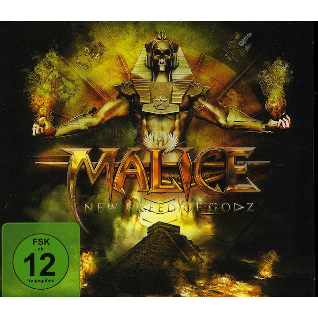 Malice NEW BREED OF GODZ CD