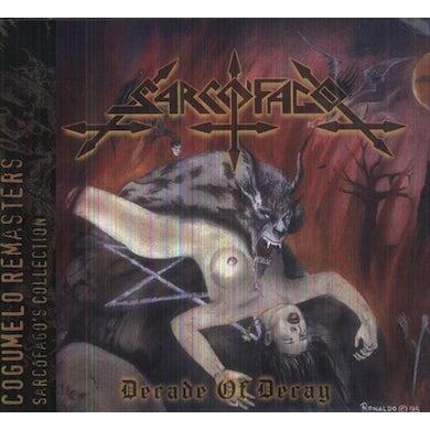 Sarcofago DECADE OF DECAY CD