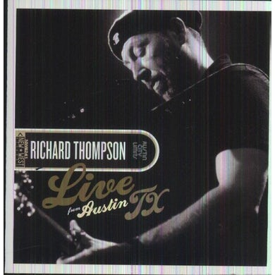 Richard Thompson LIVE FROM AUSTIN TX CD