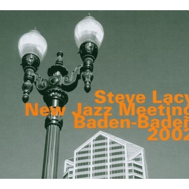 Steve Lacy NEW JAZZ MEETING BADEN BADEN 2002 CD
