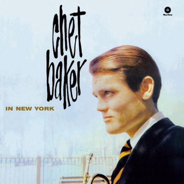 Chet Baker IN NEW YORK (BONUS TRACK) Vinyl Record - 180 Gram Pressing