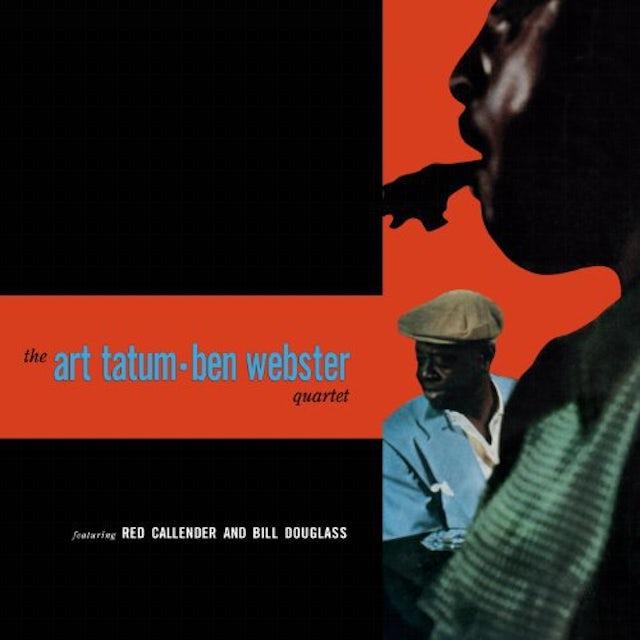 Art Tatum / Ben Webster QUARTET Vinyl Record - 180 Gram Pressing