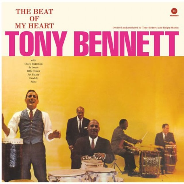 Tony Bennett BEAT OF MY HEART Vinyl Record - 180 Gram Pressing