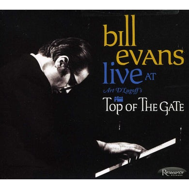 Bill Evans LIVE AT ART DLUGOFF'S TOP OF THE GATE CD