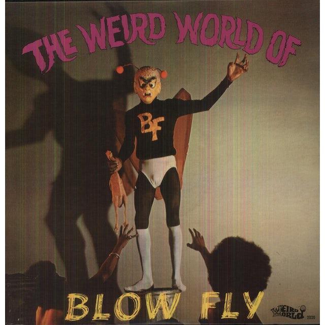 Blowfly WEIRD WORLD OF Vinyl Record