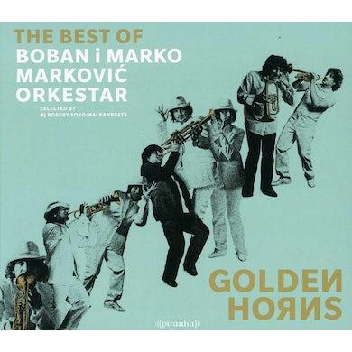 Boban Markovic & Marko GOLDEN HORNS: BEST OF CD