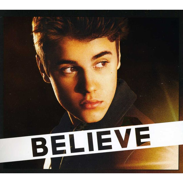 Justin Bieber BELIEVE CD