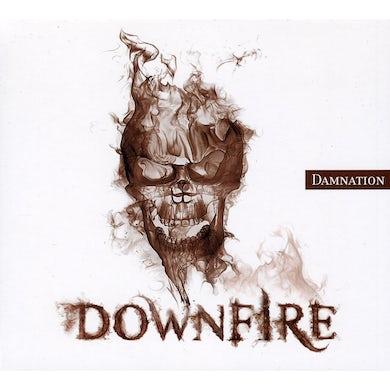 Downfire DAMNATION CD
