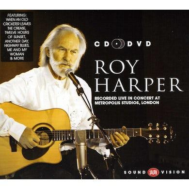Roy Harper LIVE IN CONCERT AT METROPOLIS STUDIOS LONDON CD
