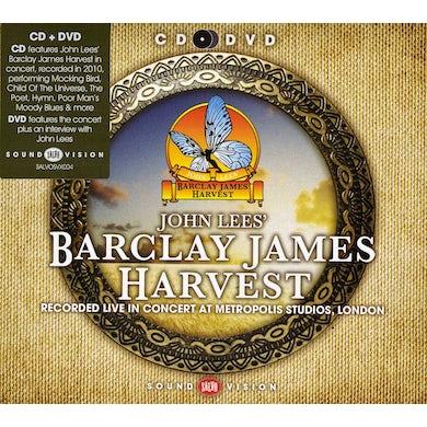 John Lees Barclay James Harvest LIVE IN CONCERT AT METROPOLIS STUDIOS LONDON CD