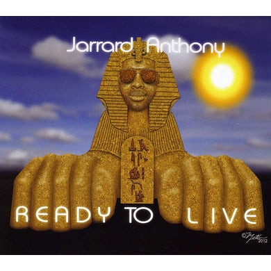 Jarrard Anthony READY TO LIVE CD