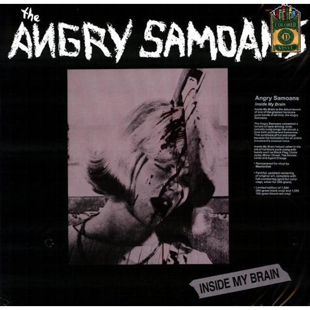 Angry Samoans INSIDE MY BRAIN Vinyl Record