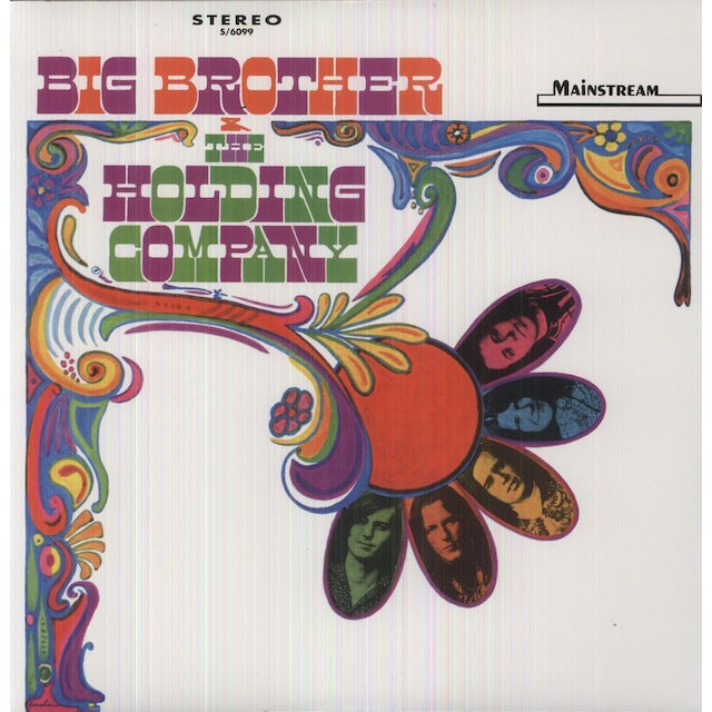 Big Brother And The Holding Company Vinyl Record