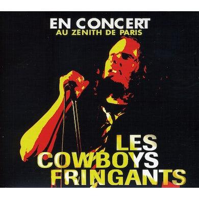 Les Cowboys Fringants EN CONCERT AU ZENITH DE PARIS CD