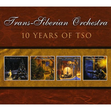 Trans-Siberian Orchestra 10 YEARS CD