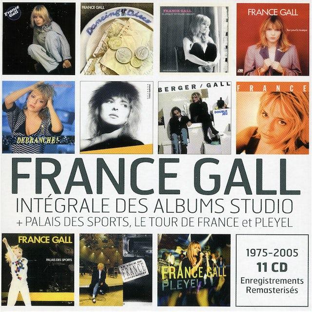 France Gall INTEGRALE DES ALBUMS STUDIOS CD