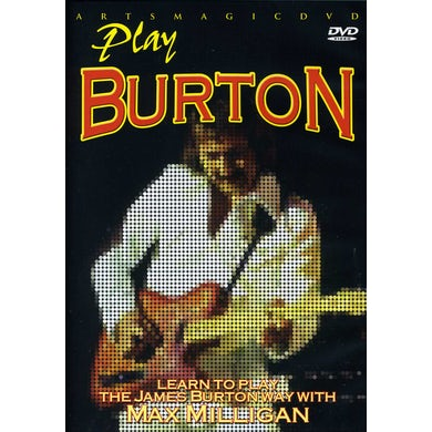 James Burton PLAY BURTON DVD