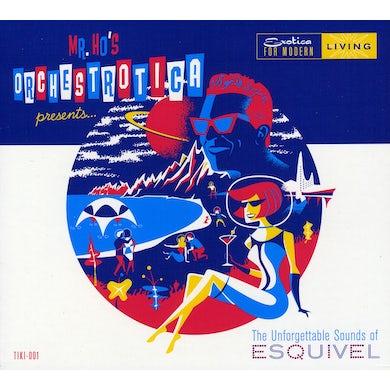 UNFORGETTABLE SOUNDS OF ESQUIVEL CD