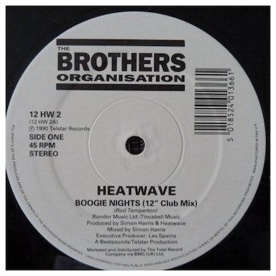 Heatwave BOOGIE NIGHTS / TOO HOT TO HANDLE Vinyl Record