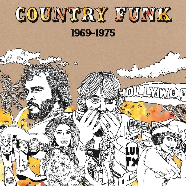 Country Funk 1969-1975 / Various Vinyl Record
