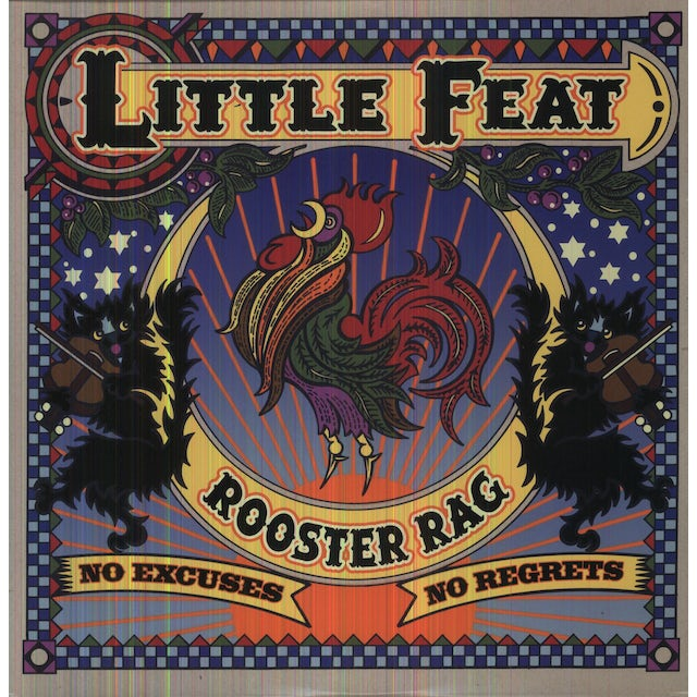 Little Feat ROOSTER RAG Vinyl Record