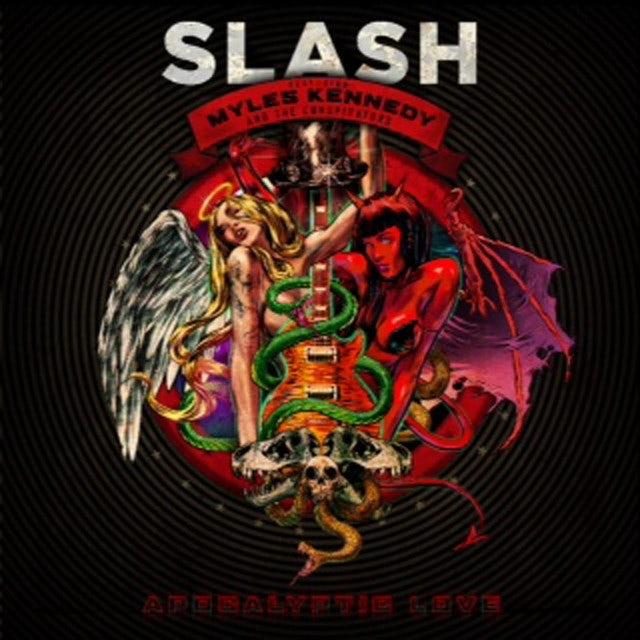 Slash APOCALYPTIC LOVE Vinyl Record