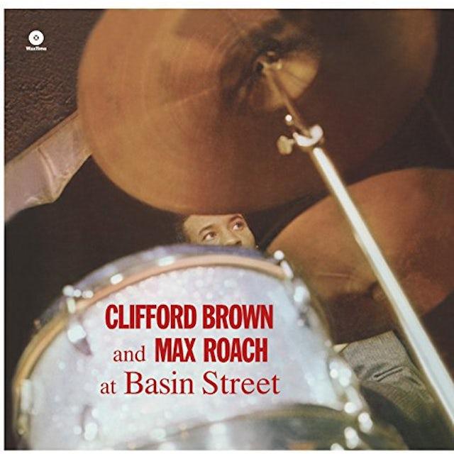 Clifford Brown / Max Roach AT BASIN STREET (BONUS TRACKS) Vinyl Record - 180 Gram Pressing