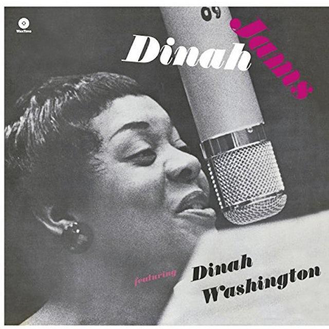 Dinah Washington / Clifford Brown DINAH JAMS (BONUS TRACK) Vinyl Record - 180 Gram Pressing