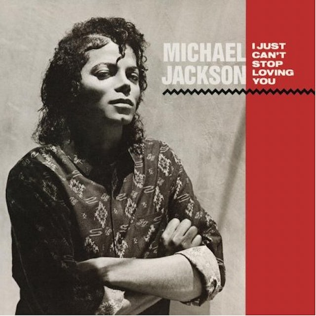 Michael Jackson I JUST CAN'T STOP LOVING YOU / BABY BE MINE (Vinyl)
