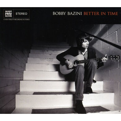 Bobby Bazini BETTER IN TIME CD