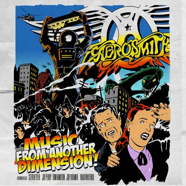 Aerosmith MUSIC FROM ANOTHER DIMENSION CD
