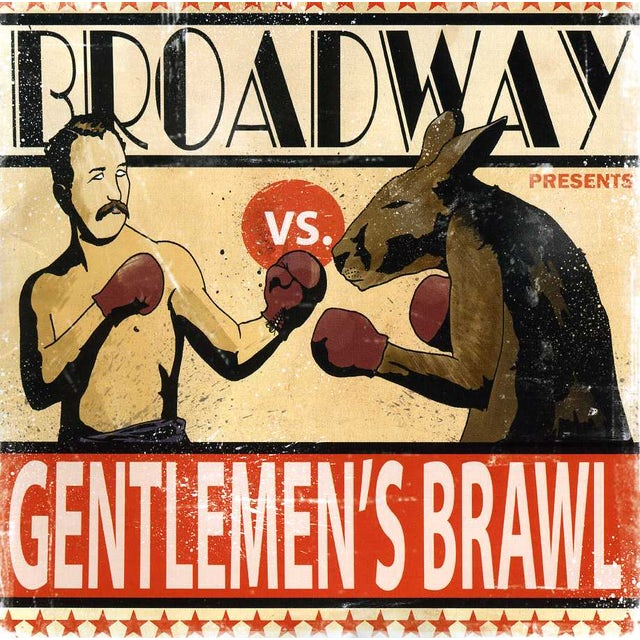 Broadway GENTLEMEN'S BRAWL CD