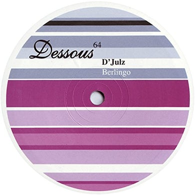 D'Julz BERLINGO Vinyl Record
