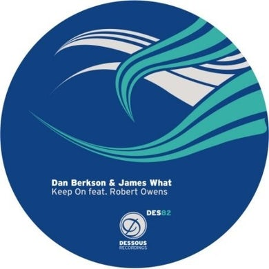 Dan Berkson & James What KEEP ON Vinyl Record