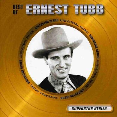Ernest Tubb BEST OF: SUPERSTAR SERIES CD