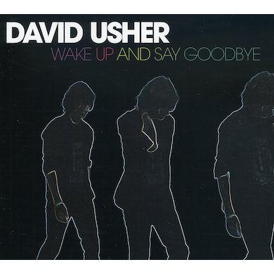 David Usher WAKE UP & SAY GOODBYE CD