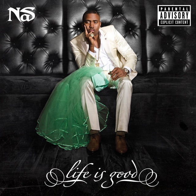 Nas LIFE IS GOOD Vinyl Record