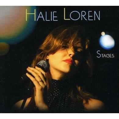 Halie Loren STAGES CD