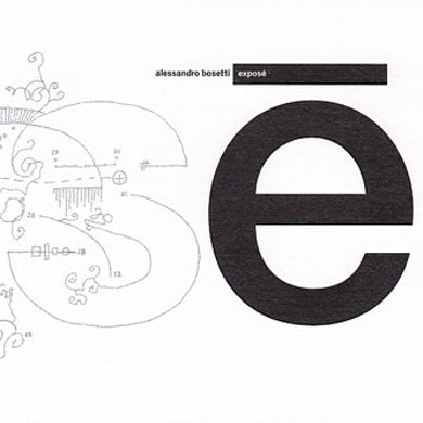 Alessandro Bosetti EXPOSE CD