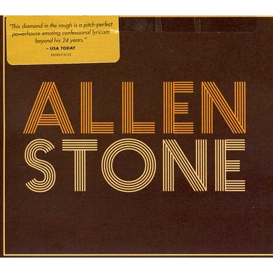 ALLEN STONE CD