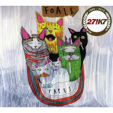 Foals TAPES CD