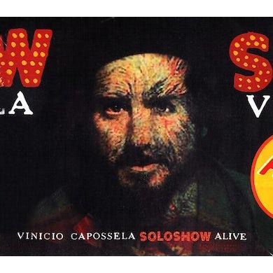 Vinicio Capossela SOLO SHOW ALIVE CD