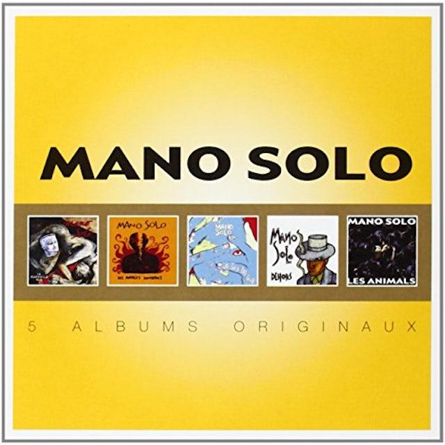 Mano Solo ORIGINAL ALBUM SERIES CD