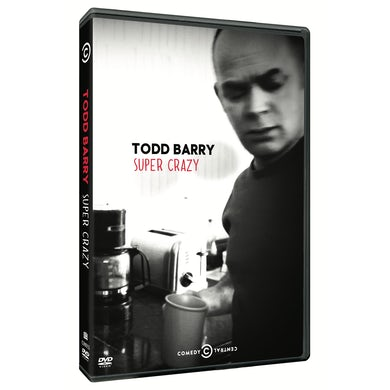 Todd Barry SUPER CRAZY DVD